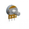 16mm Single Unit Rotary Potentiometers -  Metal Shaft