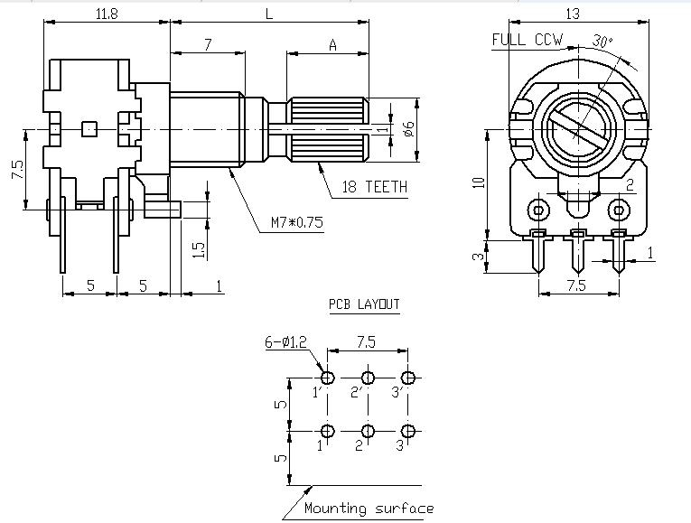 Wiring Diagram For A Potentiometer